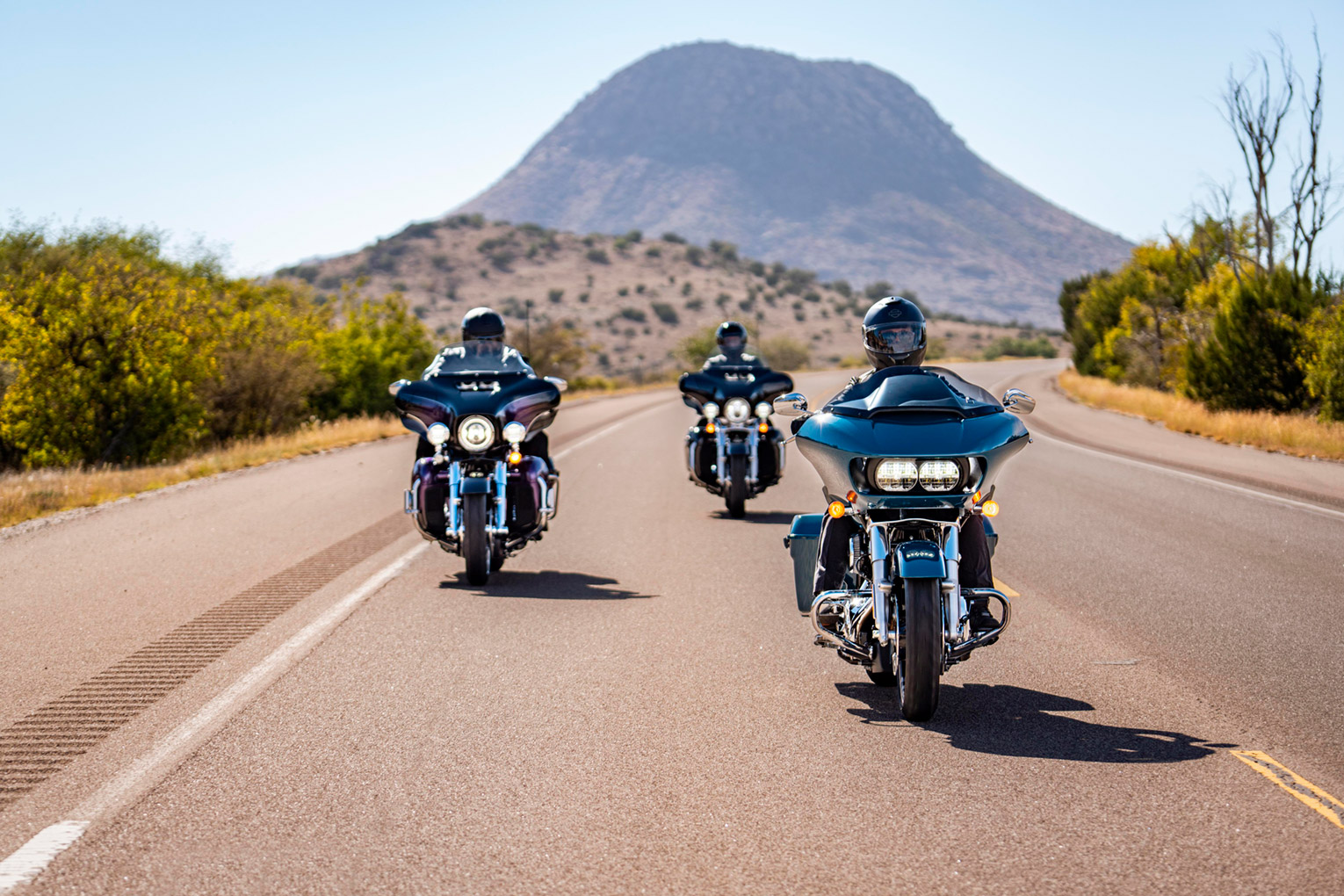Harley Road Glide in USA