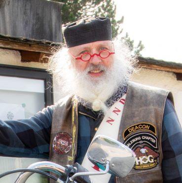 Motorradweihe mit Diakon Albert Hötzer