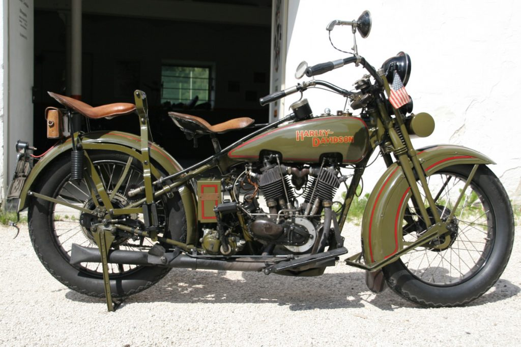 Custom Bikes Oldtimer Harley