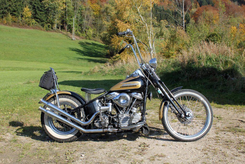 Umbau Harley Hot Stuff