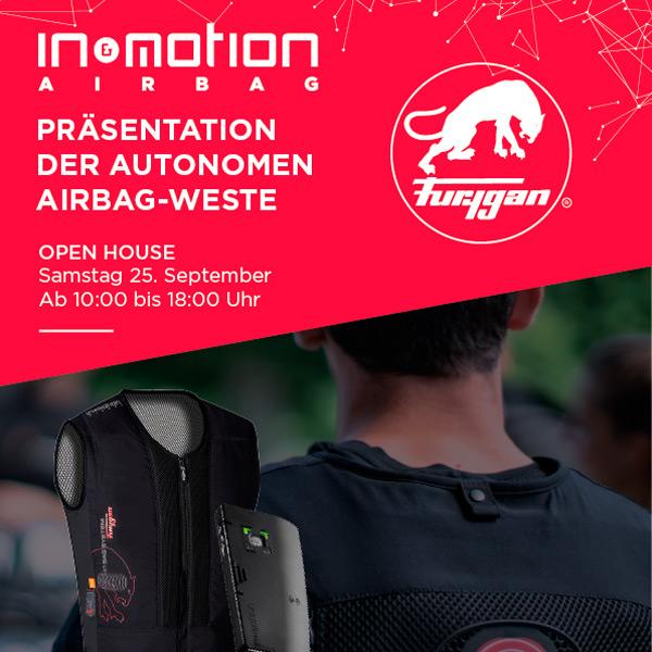 Airbag-Weste In&motion für Harley Fahrer