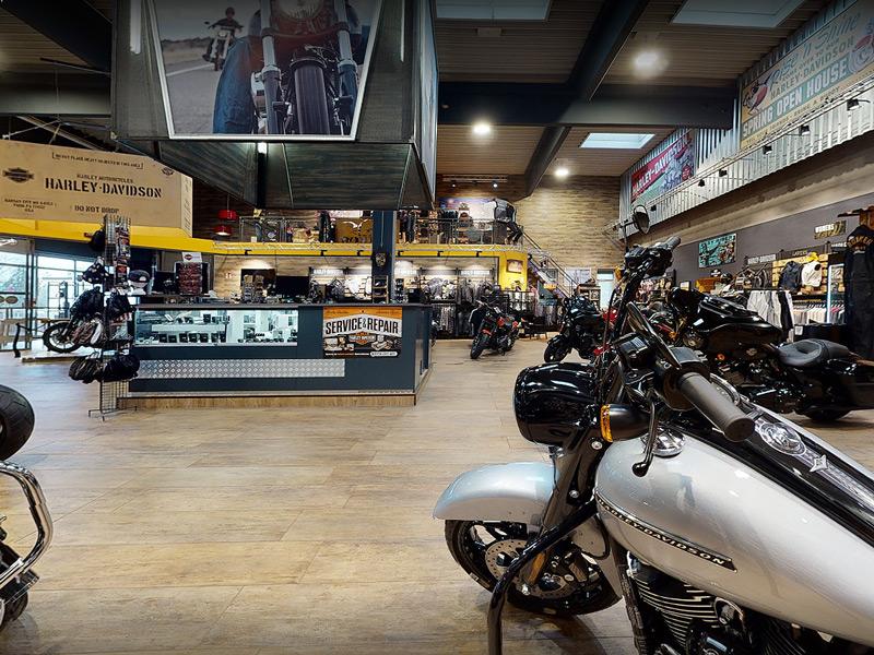 Open House in Salzburg mit neuen Harley BIkes